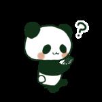 まんじゅう<br>パンダ